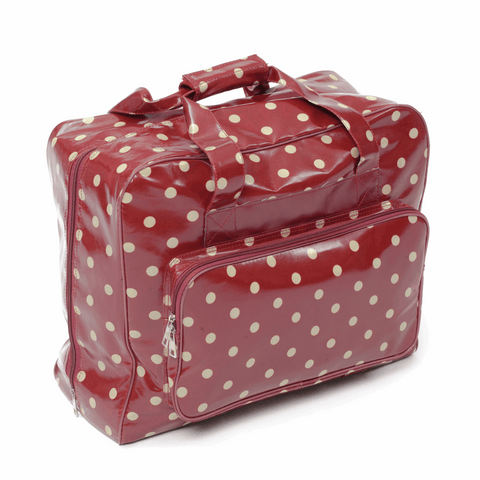 Red Spot Sewing Machine Bag