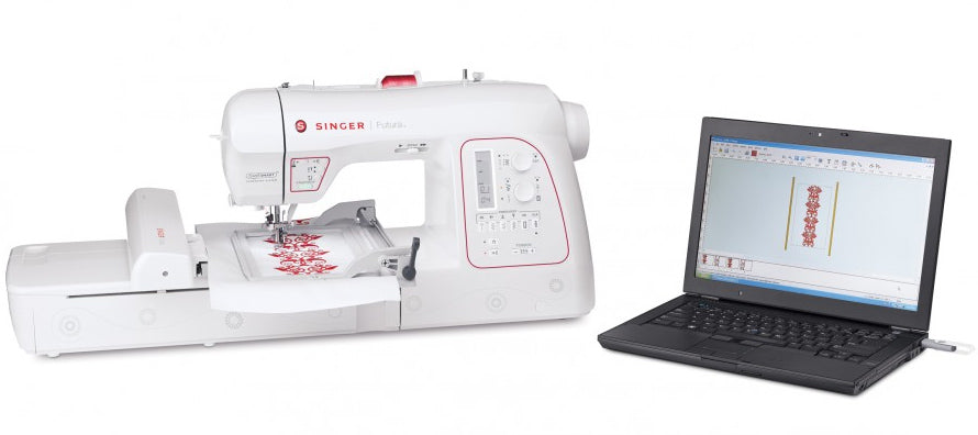 Singer Futura XL580 - Sewing & Embroidery Machine with Free Software worth over £500 - Ex Display