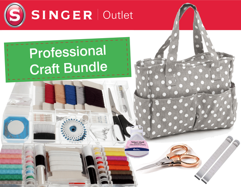 Professional Craft Bundle with Craft Bag and 169 accessory pieces