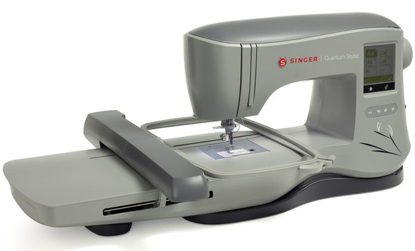 Singer Quantum Stylist EM200 Embroidery Machine - Sews any design, USB input - Preorder this item for March delivery