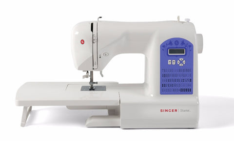 Singer Starlet 6680 Special Edition * Special Buy * inc. Extension Table - Heavy Duty with 60 stitch patterns - Sewing from Silk to Leather, latest 2020 model - Ex Display