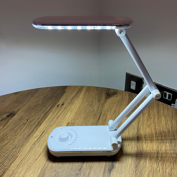 Sewing Craft Lamp - Rechargeable, Dimmable and Foldable