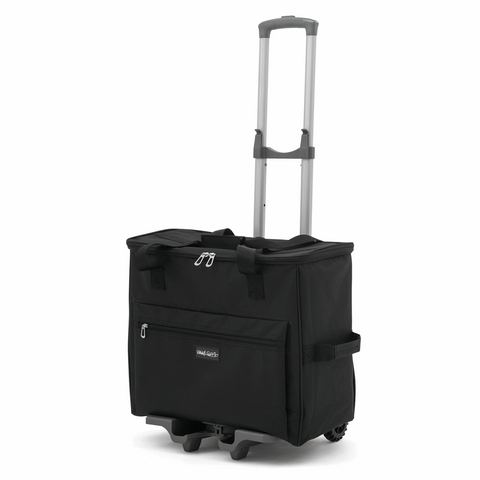 Sewing Machine Trolley Bag Black