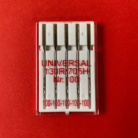 Singer Outlet Universal Sewing Machine Needles - Size 100 (pack of 5)