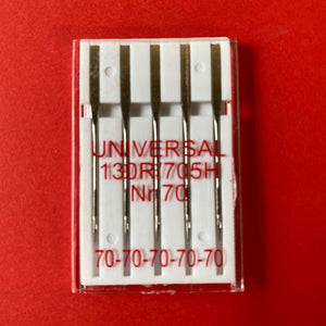 Singer Outlet Universal Sewing Machine Needles - Size 70 (pack of 5)