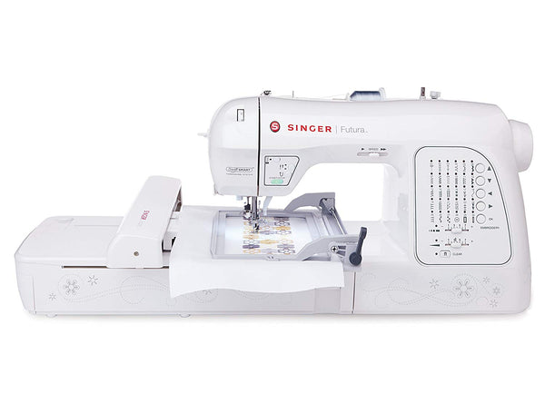 Singer Futura XL420 - Sewing & Embroidery Machine - Good as New