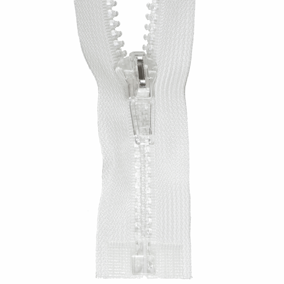 Zip Open-End Transparent 35cm