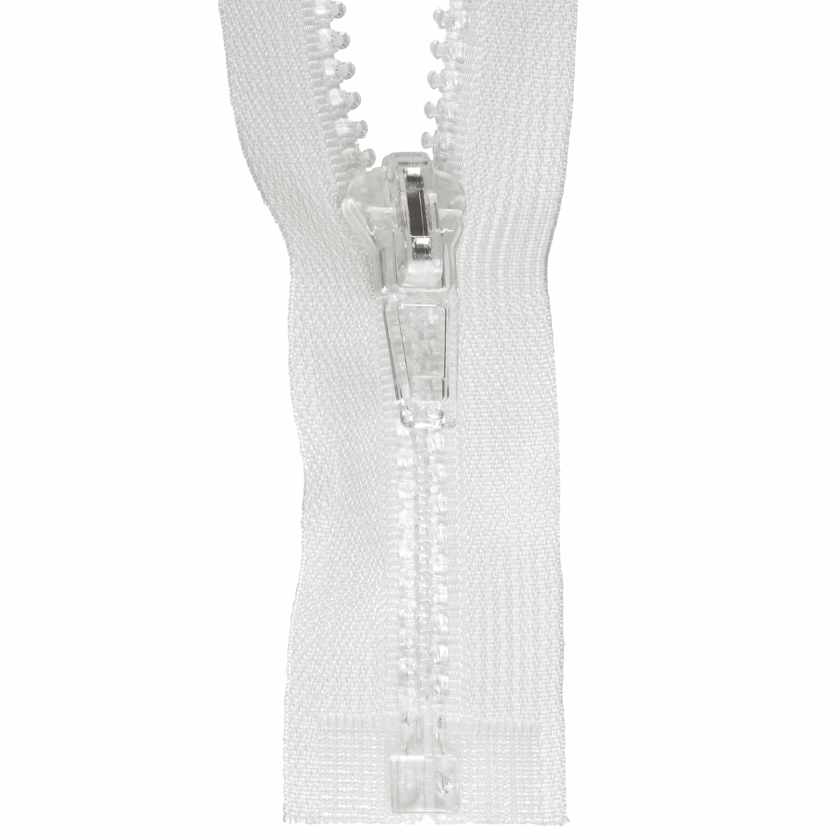 Zip Open-End Transparent 60cm