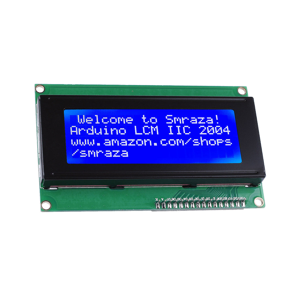 Smraza 2004 LCD Display Module (20 Characters x 4 Lines) Compatible with Arduino UNO R3 MEGA2560 Nano-ADP01
