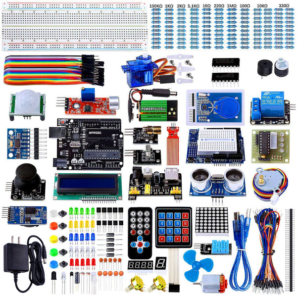 Smraza Ultimate Starter Kit for Arduino R3 Project with Tutorial, 200pcs Components Compatible with Arduino Mega2560 (67 Items)-S31
