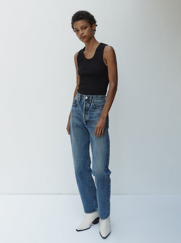 Your New Go-To: 90's Pinch Waist Jean