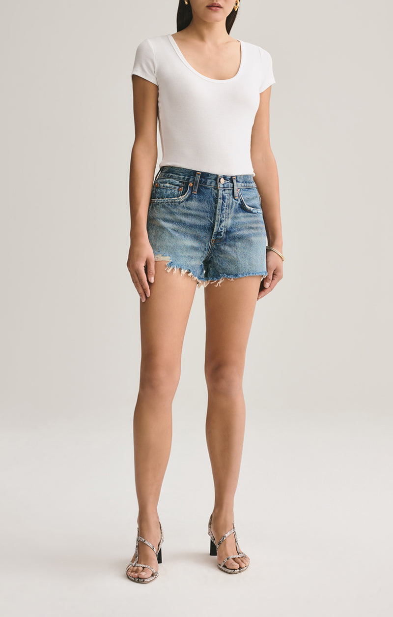 parker vintage cut off short rocksteady front