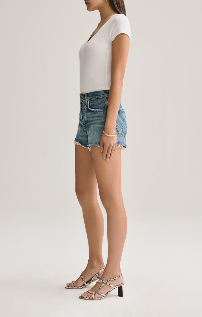 Parker Vintage Cut Off Short in Rock Steady