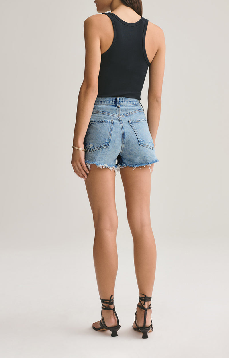 Jaden High Rise Cut Off Short Surreal back