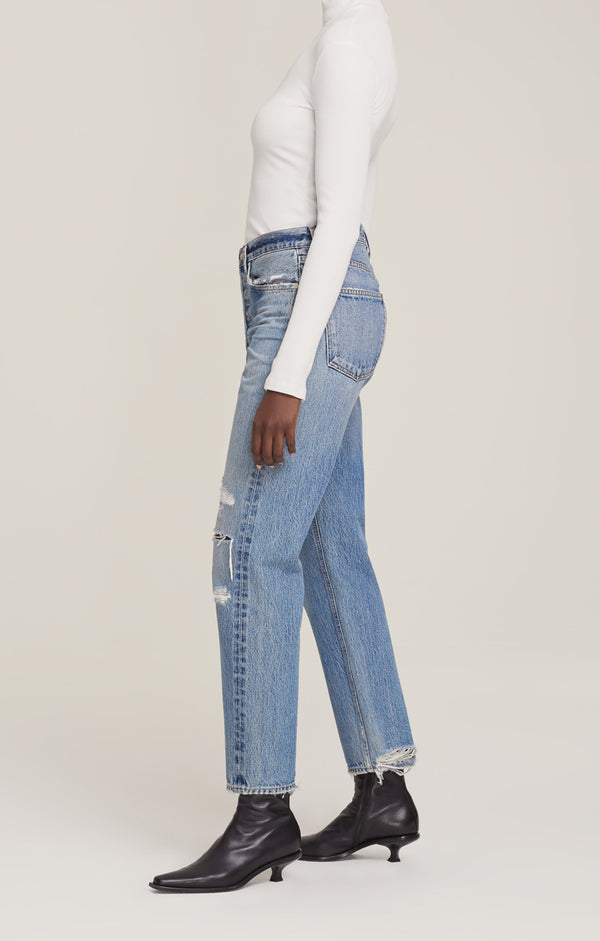 90's Mid Rise Loose Fit Streamline side