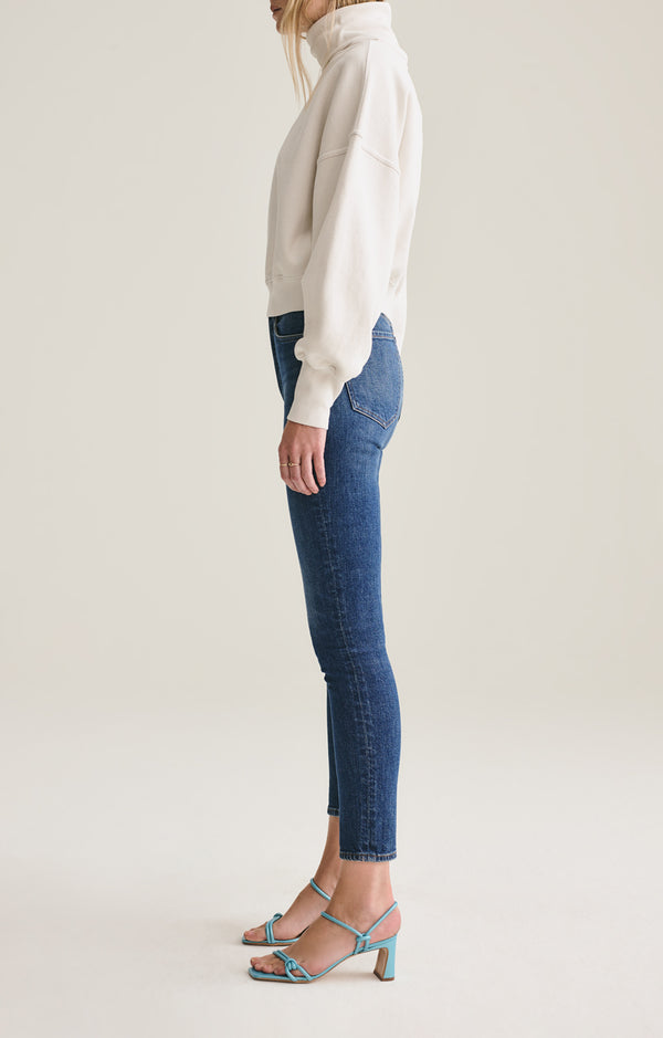 Nico High Rise Slim Fit in Fixation