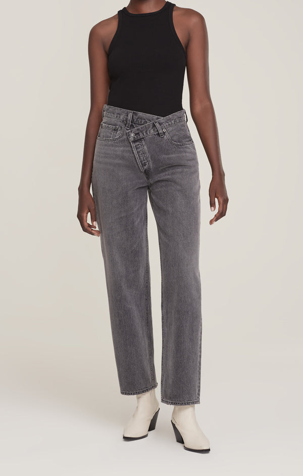 Criss Cross Upsized Jean Synchronize front