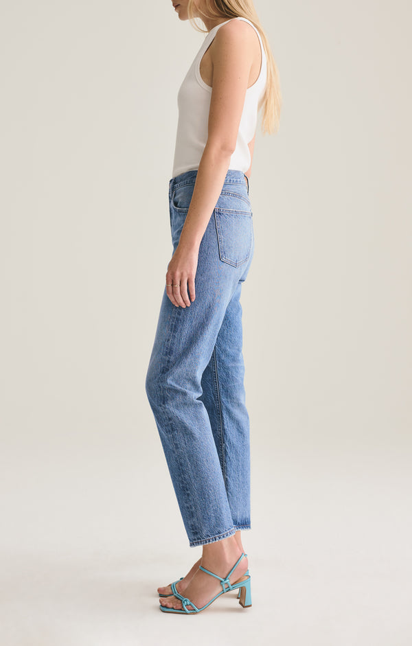 parker easy straight fit jean evade side