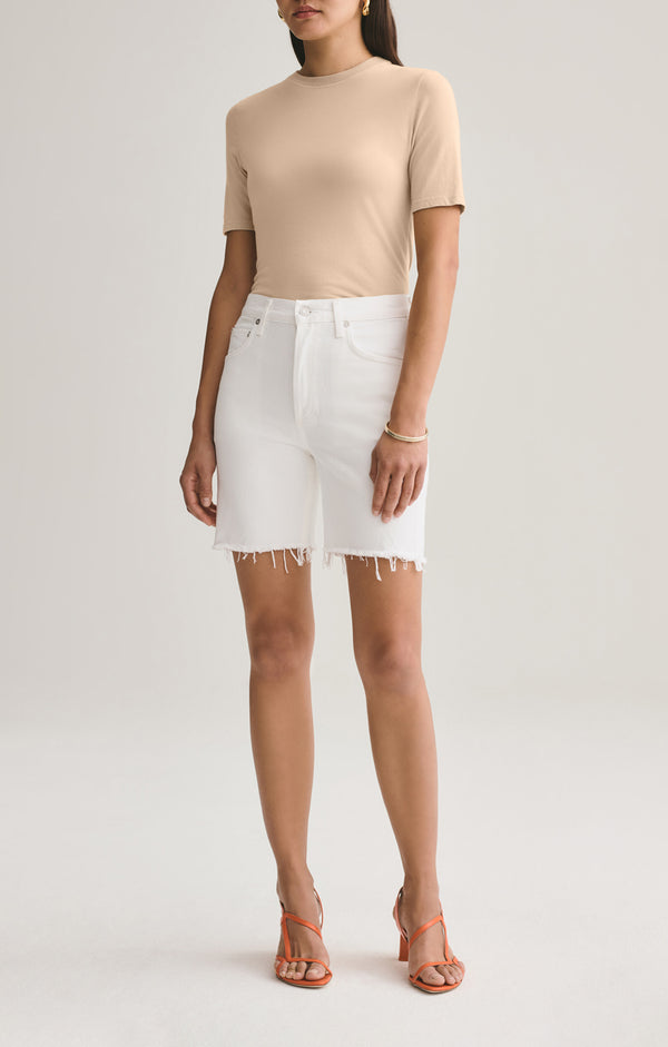rumi mid length short oyster front