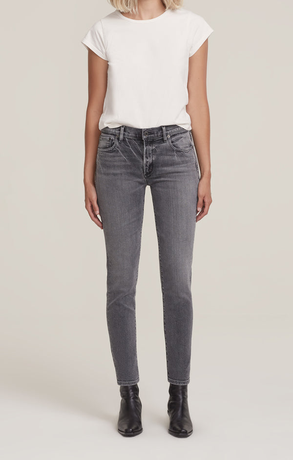 Sophie Mid Rise Skinny Ankle Duet front