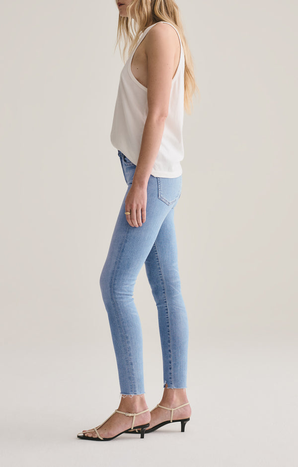 Sophie Mid Rise Skinny Ankle Facet side