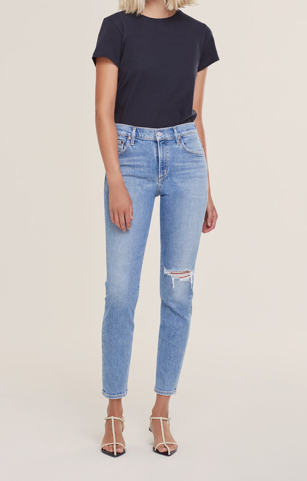Sophie Mid Rise Skinny Ankle Playback front