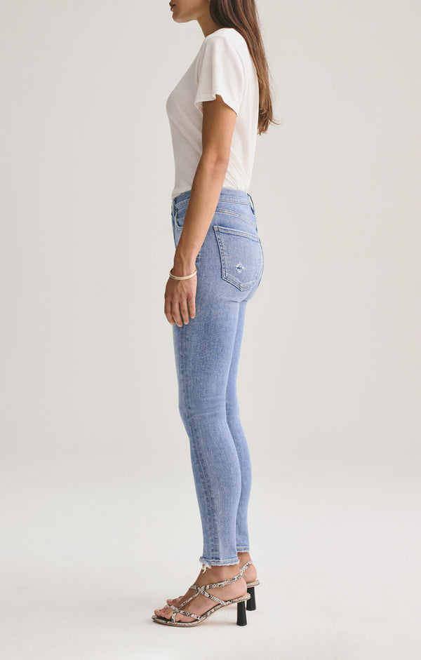 Sophie Mid Rise Skinny Ankle Saltwater side