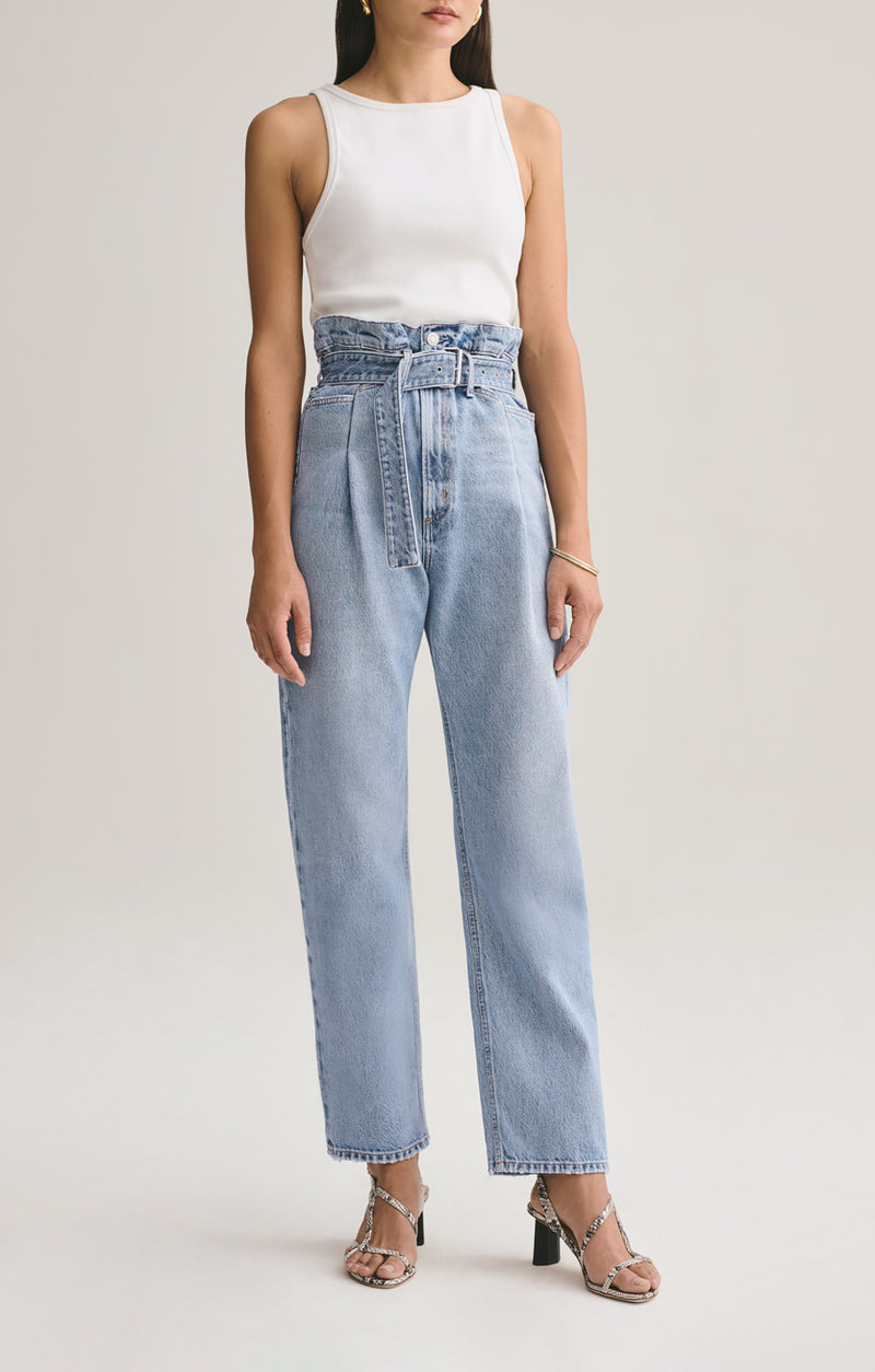 Reworked 90's High Rise Straight Jean in Revival