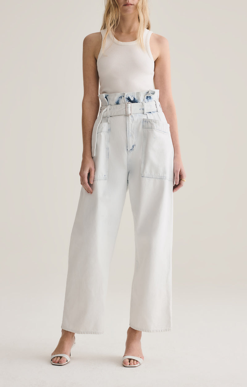 aden paperbag utility pant oceania front