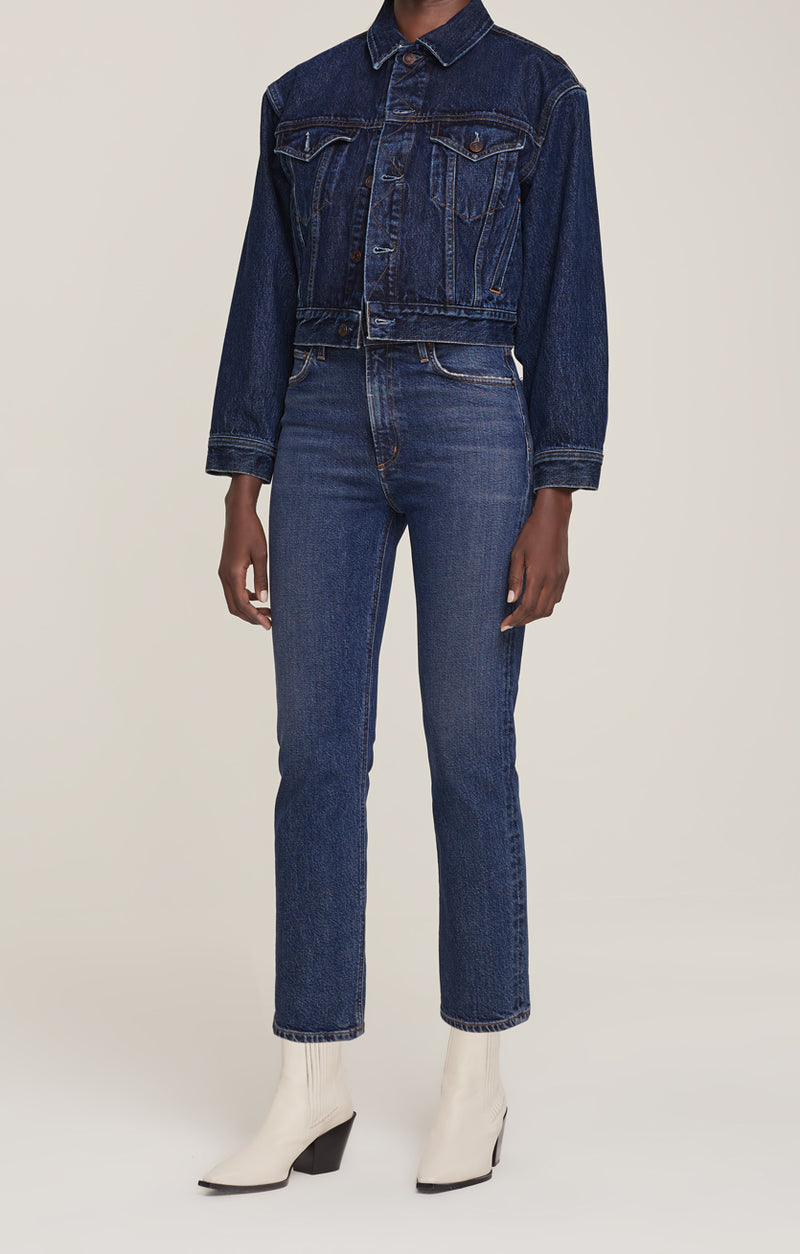 Wilder Jean Mid Rise Comfort Straight Hype front