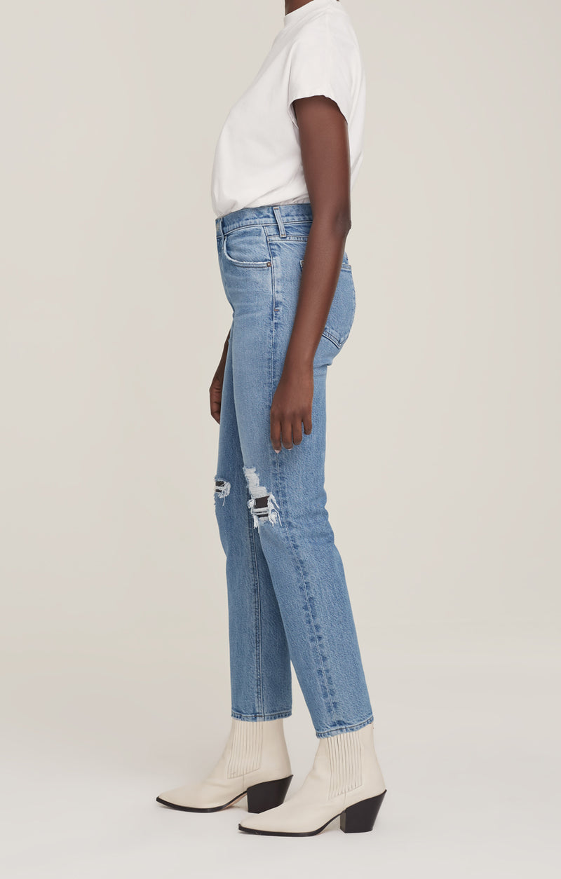 Wilder Jean Mid Rise Comfort Straight Whiplash side