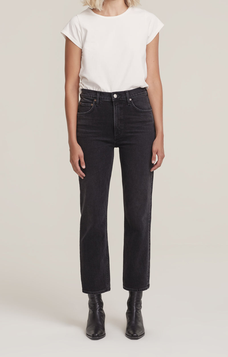 Wilder Jean Mid Rise Comfort Straight Panoramic front