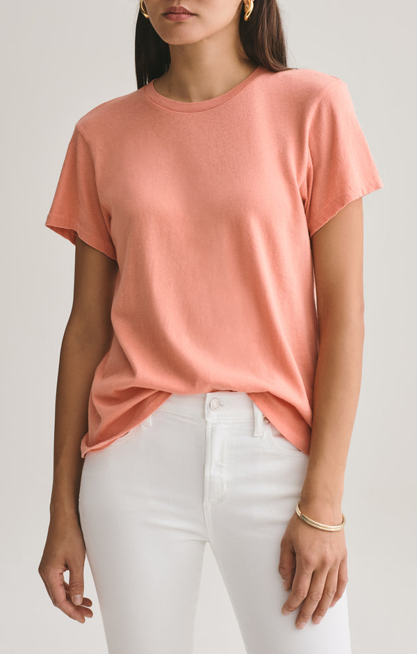 Mariam Classic Fit Tee in Passion Fruit