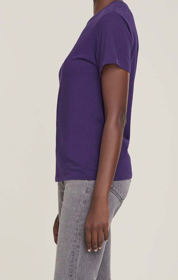 Mariam Classic Fit Tee Grape side