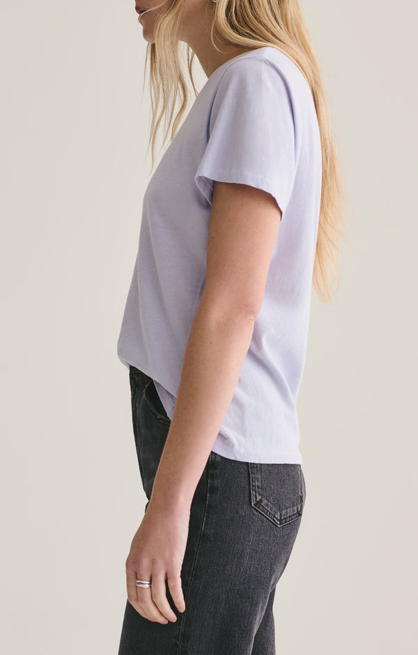 Mariam Classic Fit Tee in Grape Juice