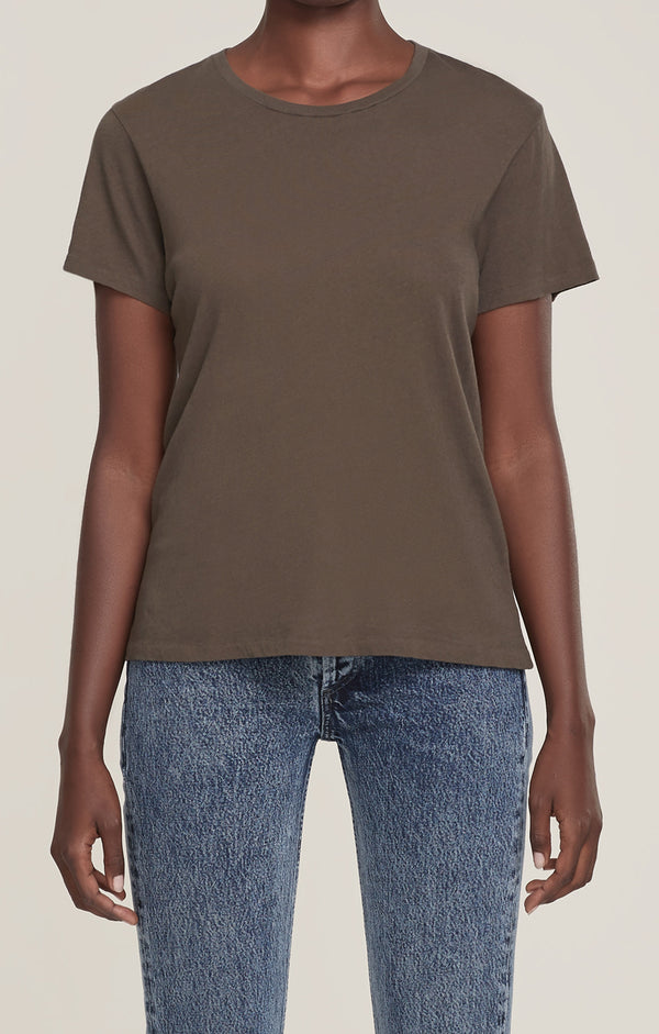 Mariam Classic Fit Tee Wicker front