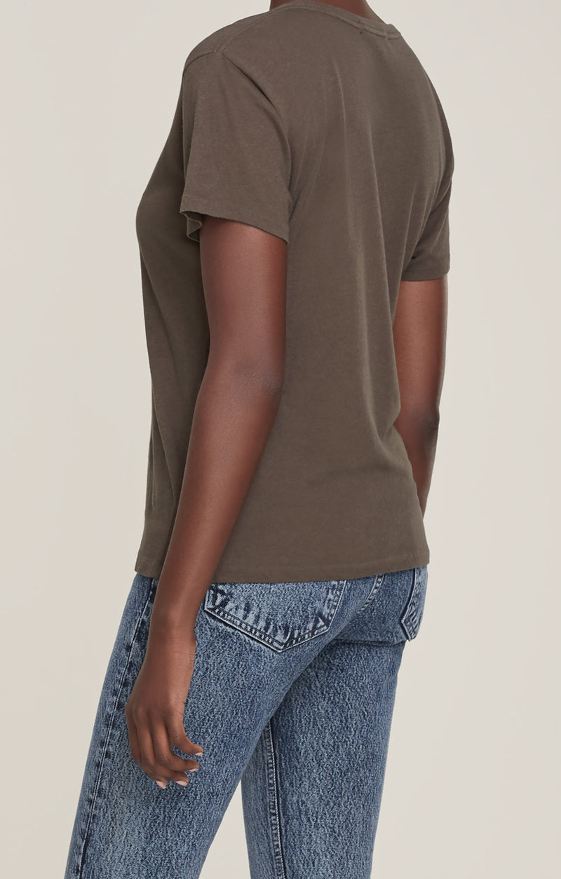 Mariam Classic Fit Tee Wicker back