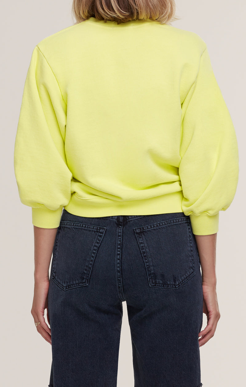 Thora 3/4 Sleeve Sweatshirt Tarte back