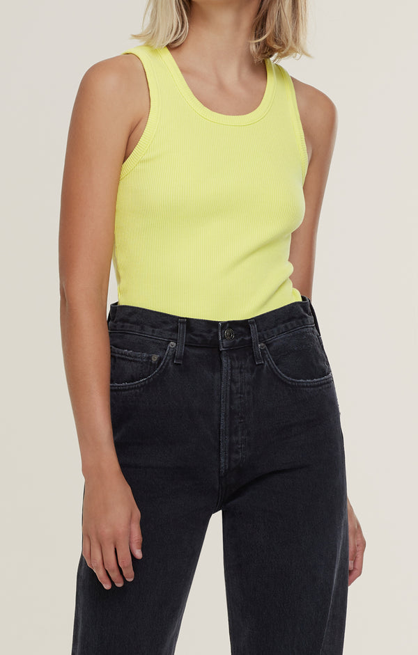 Poppy Scoop Neck Tank Tarte front