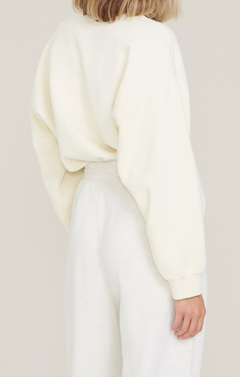 Nolan Drop Shoulder Sweatshirt Penne back