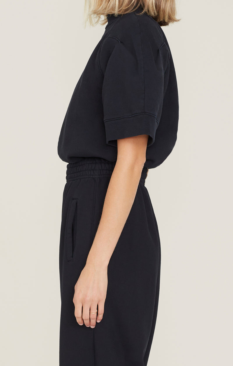 The Round Shoulder Sweatshirt Black