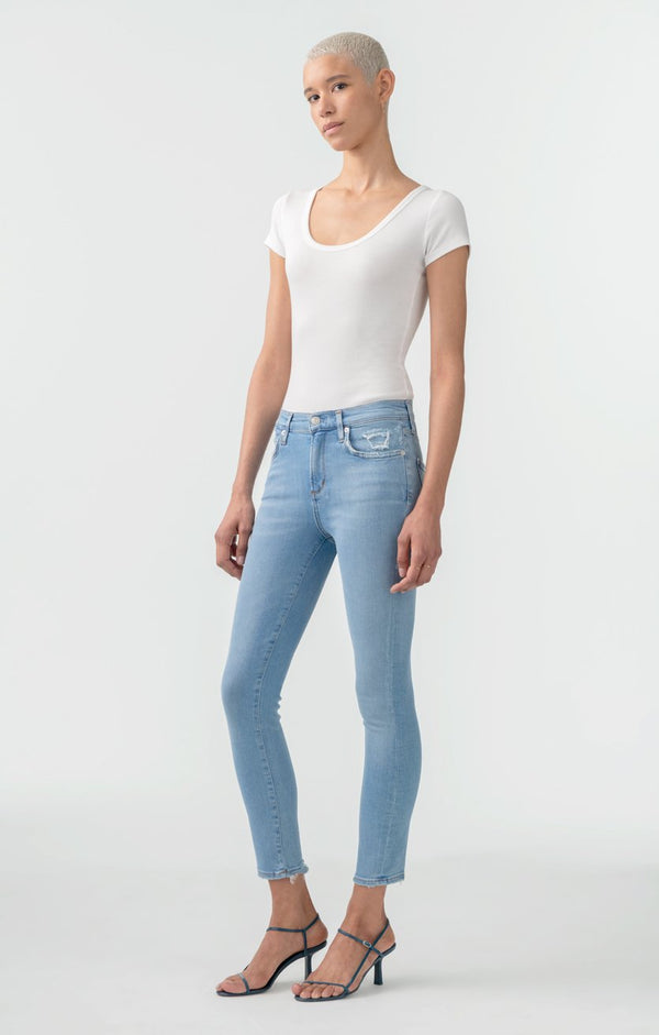 sophie mid rise skinny crop limit back
