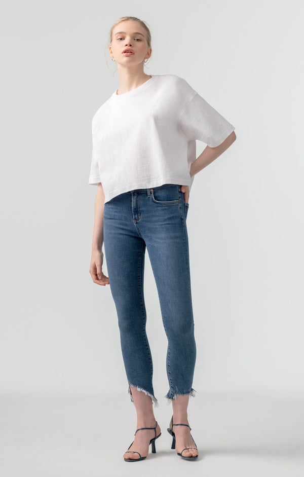sophie mid rise skinny crop discretion front