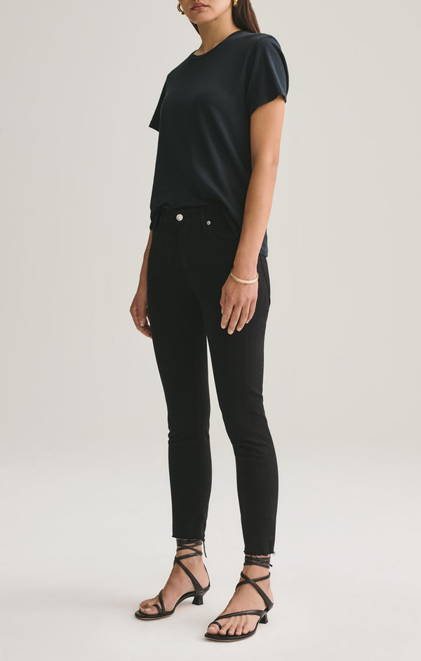sophie mid rise skinny crop shift front