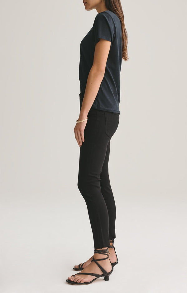 sophie mid rise skinny crop shift back