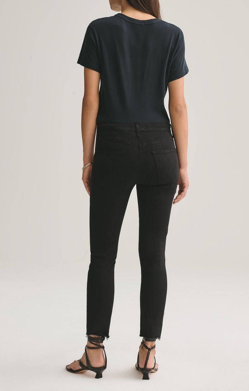 sophie mid rise skinny crop shift side