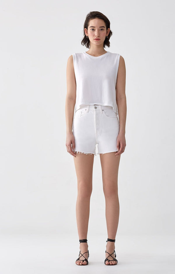 dee super high rise short oyster front
