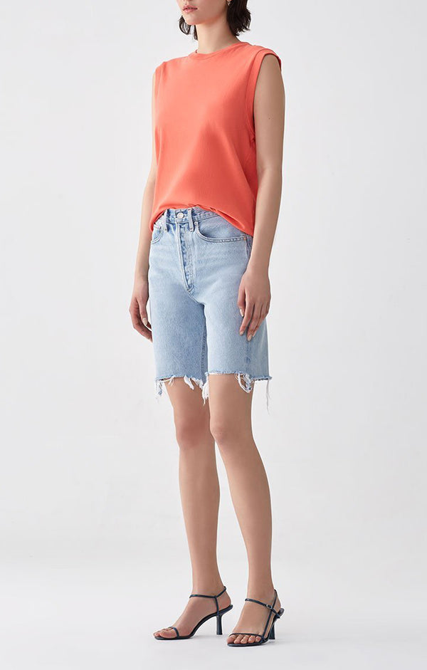 90's Mid Rise Loose Short in Digit