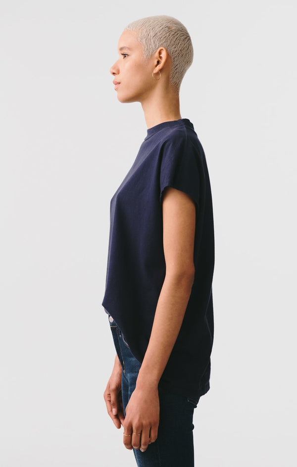sleeveless oversized boxy tee vessel back
