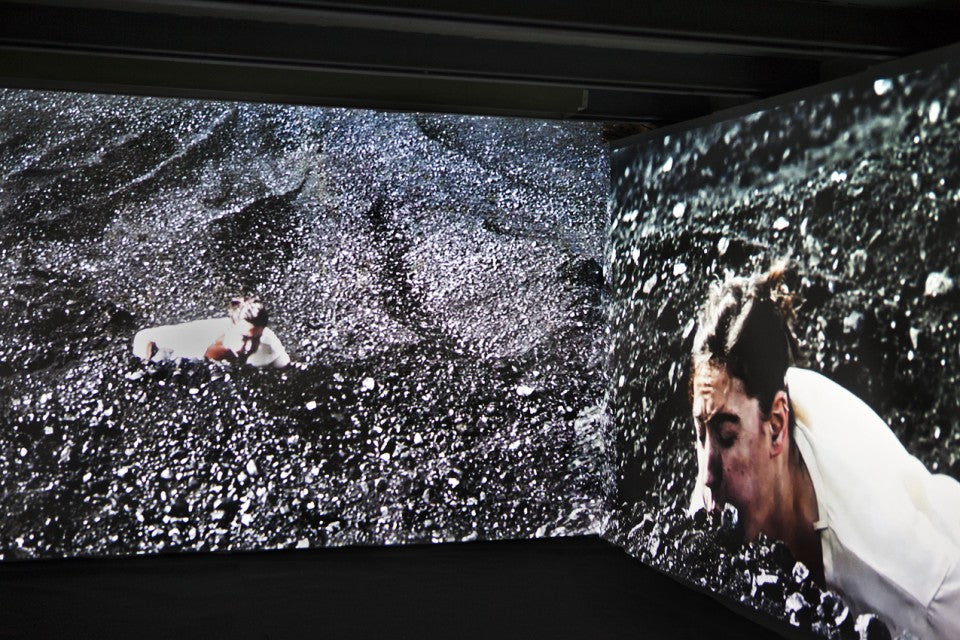Blow Bolt / Two-channel video and sound installation /  2013